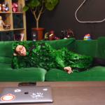 """【アバンティーズ】リクヲを探せ!""""緑のあれ""""で作った迷彩スーツがヤバいw"""