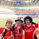 YouTuberも燃えた!!サッカーW杯初戦、日本がコロンビアに勝利!