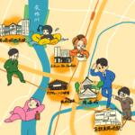 【東海ファン必見!】東海オンエア聖地巡礼MAP【岡崎市街地編】